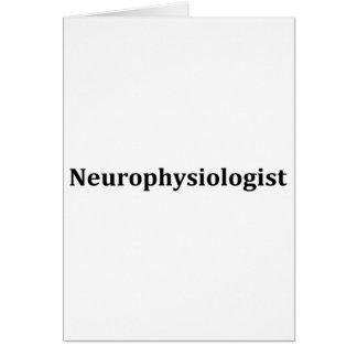 Neurofisiólogo Tarjeta De Felicitación