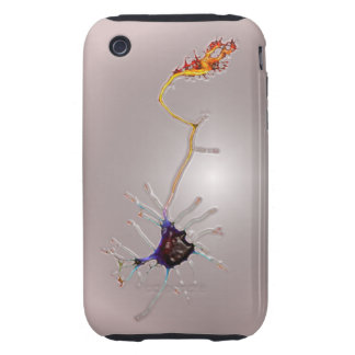 NeuroFlame (Plastic version) iPh3G iPhone 3 Tough Case