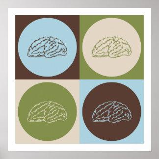 Neurología del arte pop póster