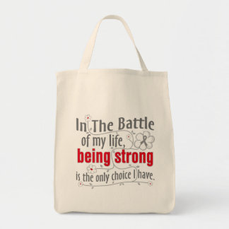 Neurological Disorders In the Battle Grocery Tote Bag