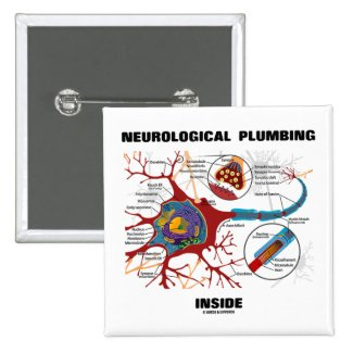 Neurological Plumbing Inside (Neuron / Synapse) Button