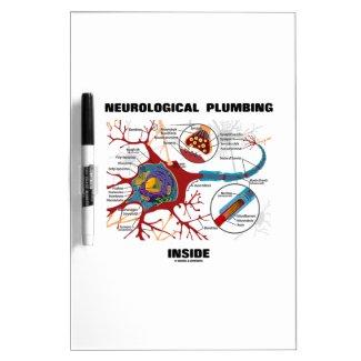 Neurological Plumbing Inside (Neuron / Synapse) Dry Erase Board
