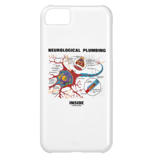 Neurological Plumbing Inside (Neuron / Synapse) iPhone 5C Cover