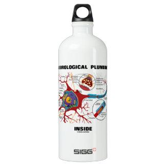 Neurological Plumbing Inside (Neuron / Synapse) Water Bottle