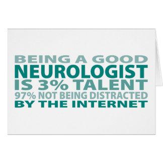 Neurologist 3% Talent Card