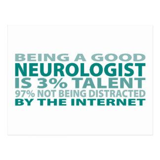 Neurologist 3% Talent Postcard