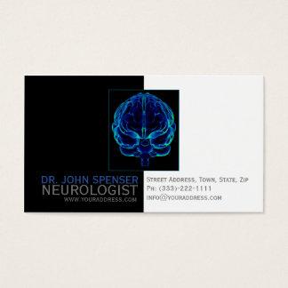 Neurologist Blue Brains Medical Business Card