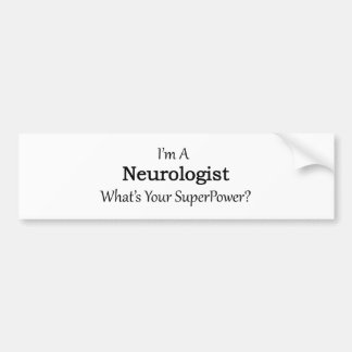 Neurologist Bumper Sticker
