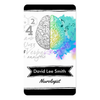 Neurologist Double-Sided Standard Business Cards (Pack Of 100)