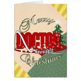 NEUROLOGIST DOCTOR MERRY CHRISTMAS CARD