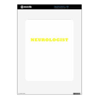 Neurologist iPad Decal