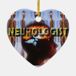 NEUROLOGIST NEUROLOGY CERAMIC ORNAMENT