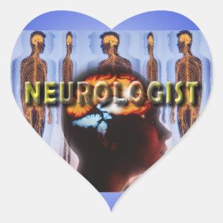 NEUROLOGIST NEUROLOGY HEART STICKER