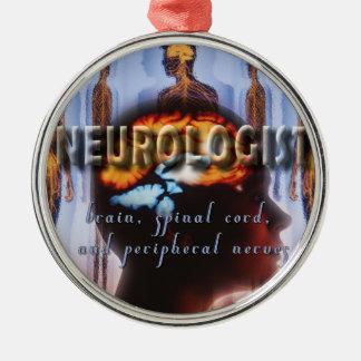 NEUROLOGIST NEUROLOGY METAL ORNAMENT