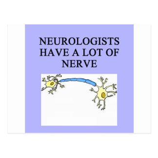 NEUROLOGIST POSTCARD