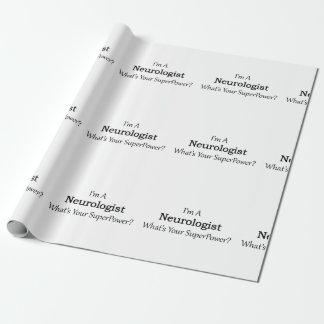 Neurologist Wrapping Paper