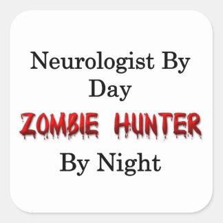 Neurologist/Zombie Hunter Square Sticker