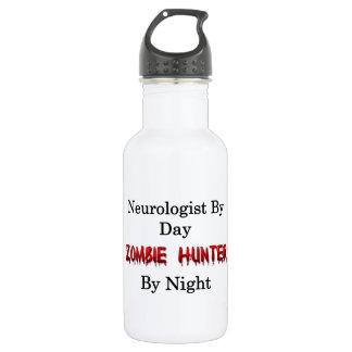 Neurologist/Zombie Hunter Stainless Steel Water Bottle