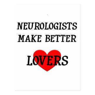 Neurologists Make Better Lovers Postcard