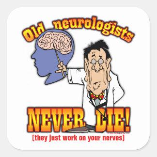 Neurologists Square Sticker