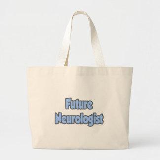Neurólogo futuro bolsa tela grande
