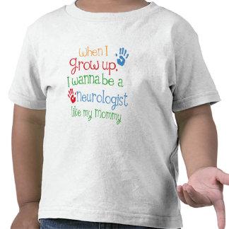 Neurólogo (futuro) como mi mamá camisetas