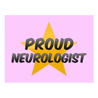 Neurólogo orgulloso tarjeta postal