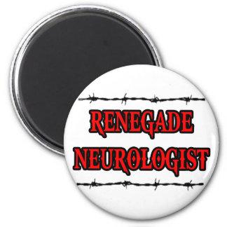 Neurólogo renegado imán redondo 5 cm