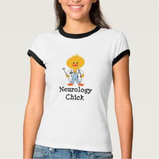 Neurology Chick Ringer T-shirt