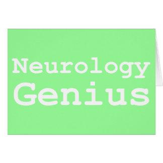 Neurology Genius Gifts Card