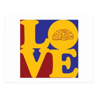 Neurology Love Postcard