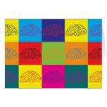 Neurology Pop Art Card