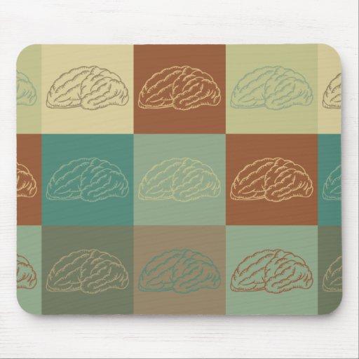 Neurology Pop Art Mouse Pad