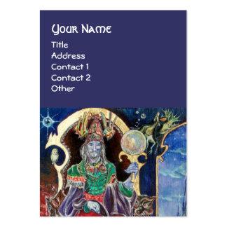 NEUROMANCER blue Business Card Templates