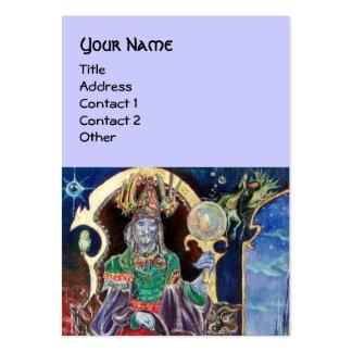 NEUROMANCER blue Business Cards