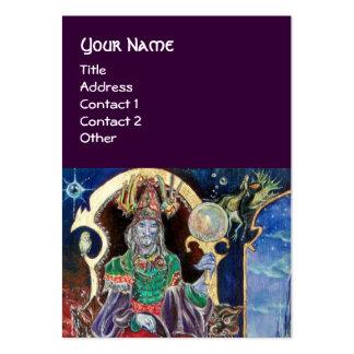 NEUROMANCER, blue red purple Business Card