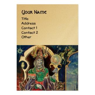 NEUROMANCER gold metallic Business Card Templates
