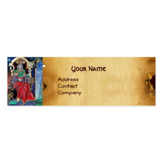 NEUROMANCER  parchment Business Card Template