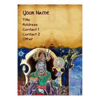 NEUROMANCER  parchment Business Card Templates