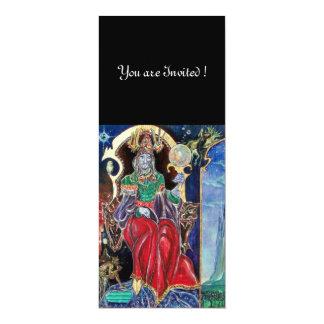 NEUROMANCER , red blue,white black Custom Invites