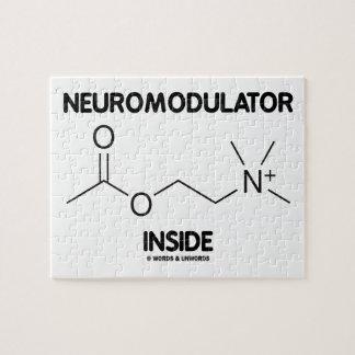 Neuromodulator Inside (Acetylcholine Molecule) Jigsaw Puzzle