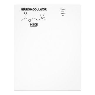 Neuromodulator Inside (Acetylcholine Molecule) Letterhead