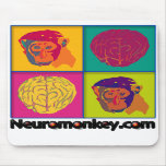 Neuromonkey Mouse Pad