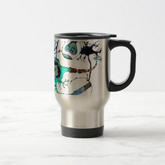 Neuron! 15 Oz Stainless Steel Travel Mug