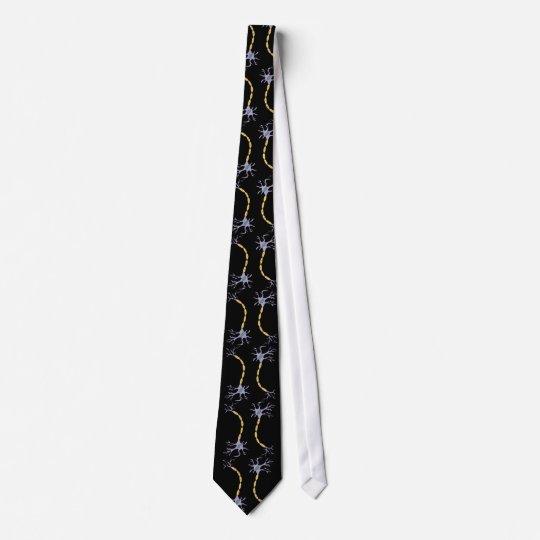 neuron connection pattern neck tie
