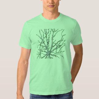Neuron-Dark Gray/Green Shadow T Shirt