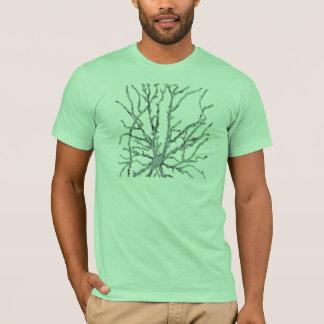 Neuron-Dark Gray/Green Shadow T-Shirt