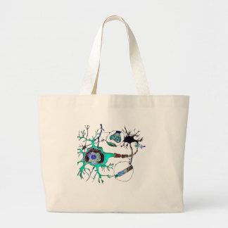 Neuron! Large Tote Bag