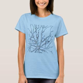Neuron- Light Grey/Blue Shadow T-Shirt