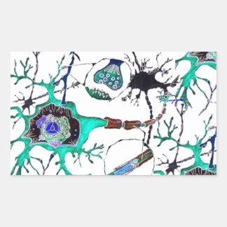 Neuron! Rectangular Sticker